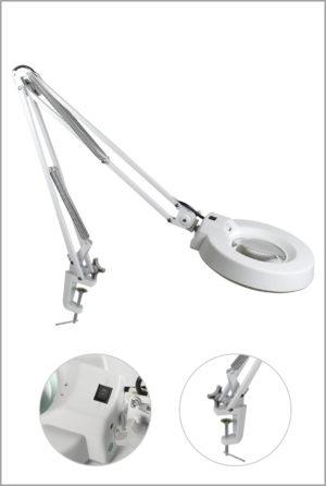"""Лампа-лупа косметологическая на струбцине """"Magnifier"""""""