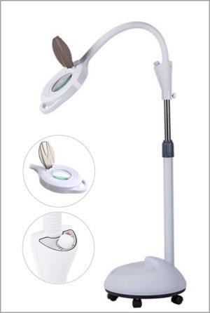 Лампа-лупа косметологическая с крышкой