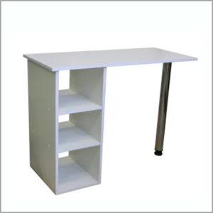 Маникюрный стол для мастеров на ножке