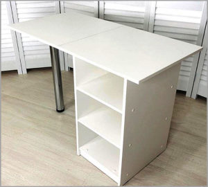 Маникюрный стол Стандарт для мастера маникюра без дверцы