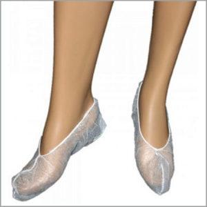 Носки-бахилы одноразовые