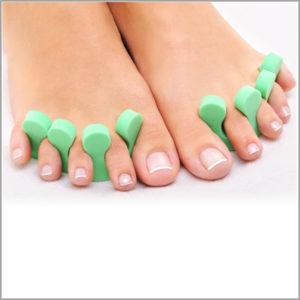 Разделители «Severina» для пальцев ног, 5пар