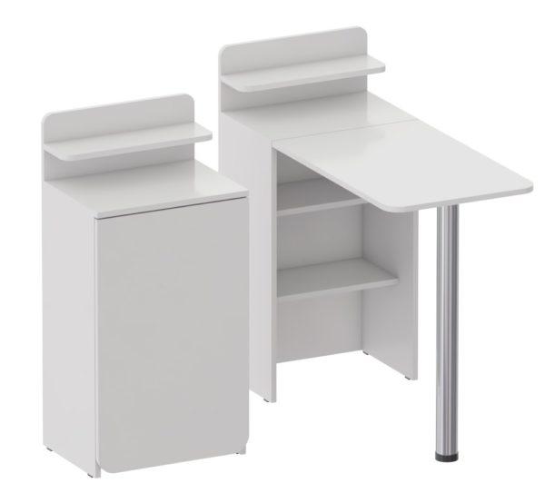 Маникюрный стол Ника для мастеров маникюра