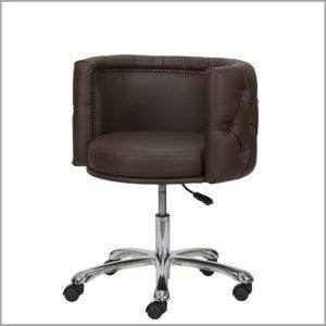 Кресло визажиста, стилиста на колесиках солидное