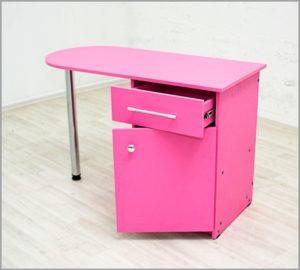 Маникюрный стол Бостон для мастера маникюра с дверцей
